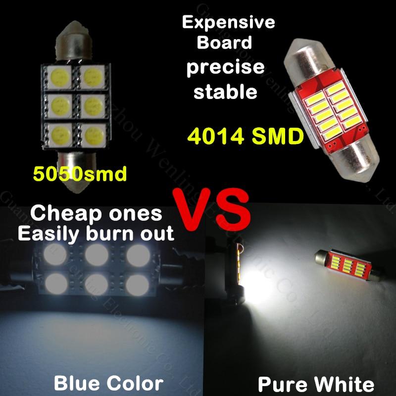 VW Passat 35I 239 C5W Blue Interior Courtesy Bulb LED Light Upgrade