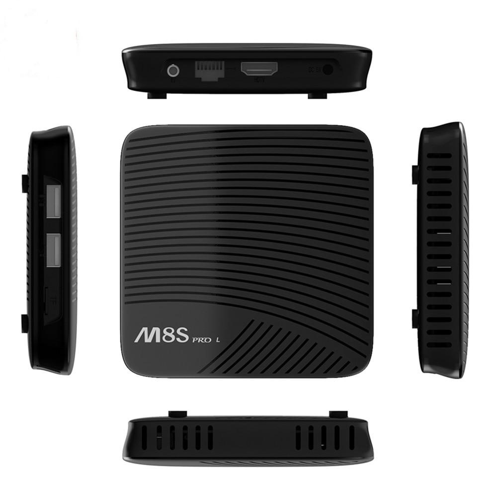 M8S PRO L 4K TV Box Amlogic S912 Cortex - A53 CPU Android 7.1 TV Box 3GB 16GB Bluetooth 4.1 + HS 4K / 3D H.265 Smart TV Box r tv box pro amlogic s912 android 6 0 4k tv box rii i8 black