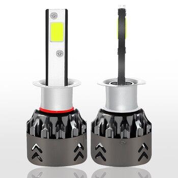 LED Lampen Für Wohnmobile   2 X H1 Mini6 COB LED Auto Scheinwerfer Birne 30 W 3000LM 9 V-36 V IP68 Wasserdichte 6000 K Kalt Weiß 6063 Aluminium Für SUV Lkw RV HID