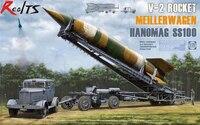 RealTS TAKOM V 2 Rocket MeillerWagen Hanomag SS100 Transporter Truck model kit 1/35