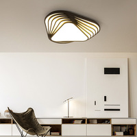 Surface Mounted Living Room Bedroom Kitchen Room Modern Led Ceiling Chandelier Light Luminarias Para Sala Dimming
