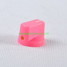все цены на 10pcs Colorful Pink Rotary Volume Control Plastic Potentiometer Knob Knurled Shaft Hole онлайн