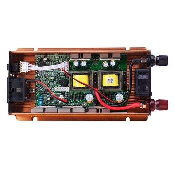 Inversor De Coche 2200W 24 V 220 V Convertidor De Voltaje 24v A 220v Cargador De Coche Voltios Pantalla CC A CA 50Hz CY924