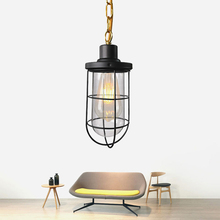 Nordic Creative bullet style Glass Pendant Lamp Vintage Minimalist E27 Home Decor Pendant Lights For Dinning room Kitchen