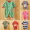 2017 novo Inverno do Velo do bebê meninos meninas roupas de bebê mangas Compridas bodysuit macacão de bebê menino