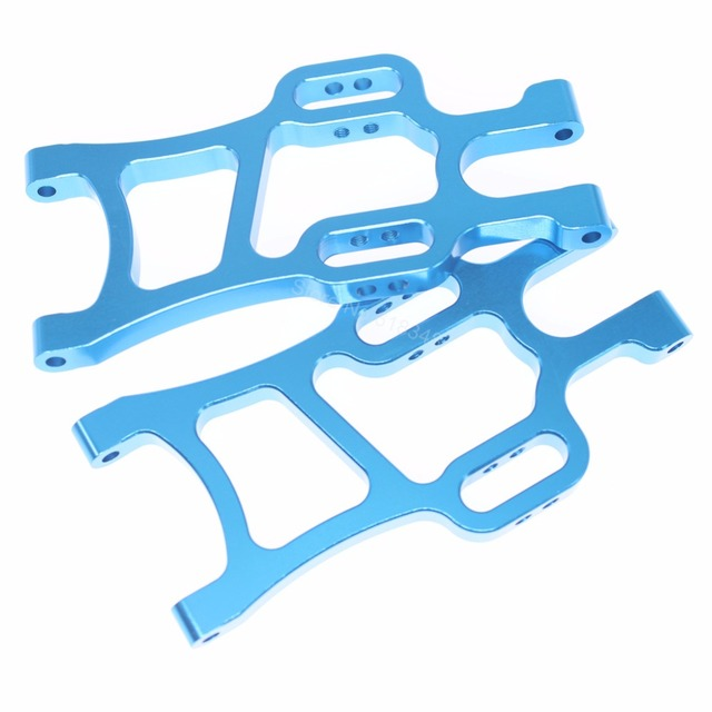 HSP 108021 Aluminum Rear Lower Suspension Arm 08006 1/10 Upgrade Parts For RC Model Off Road Monster Truck BRONTOSAURUS 94111