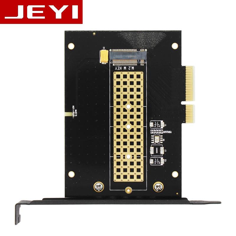 JEYI Frégate-Me M.2 NVMe SSD NGFF PCIE X4 adaptateur MKey interface carte Suppor PCI Express 3.0x4 2230-2280 Taille m.2 PLEIN VITESSE