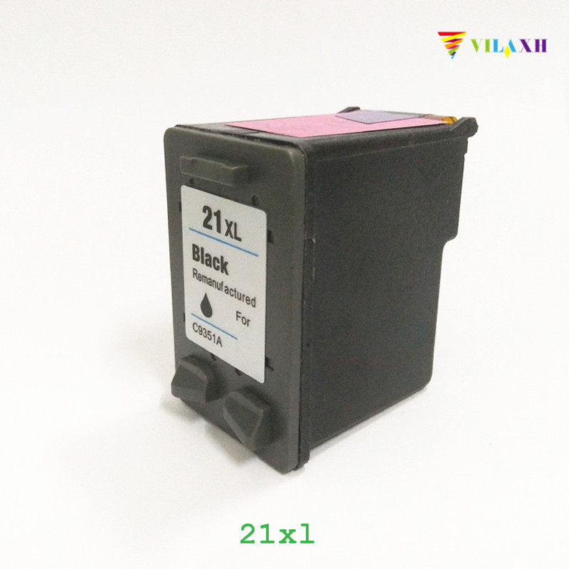 vilaxh 21 Compatible Ink Cartridge Replacement for HP 21 xl 21XL For Deskjet F380 F2180 F2280 F4180 F4100 F2100 F300 Printer befon 21 22 xl compatible ink cartridge replacement for hp 21 22 21xl 22xl deskjet f2180 f2280 f4180 f2200 f380 300 380 printer