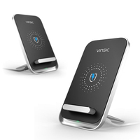 Vinsic W6 Intellective 3 Coils Wireless Charger For IPhone X 8 8 Plus Samsung S8 S8