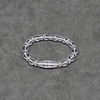 New Crystal Beads 10mm Faceted beads White crystal DZI beads string bracelet Women's Fine Jewelry Amulet Beads Money hook Dzi Ji
