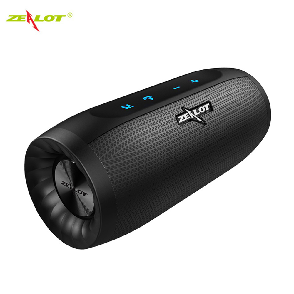 Zealot Portable Column Bluetooth Speaker Subwoofer Soundbar Stereo Bass Music Player For Cellphone xiaomi For iPhone Computer TV