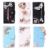 DIY Handmade Wallet Crystal case For LG K10 M2 F670 PU Leather Cases Bling Cellphone cases Rhinestone case