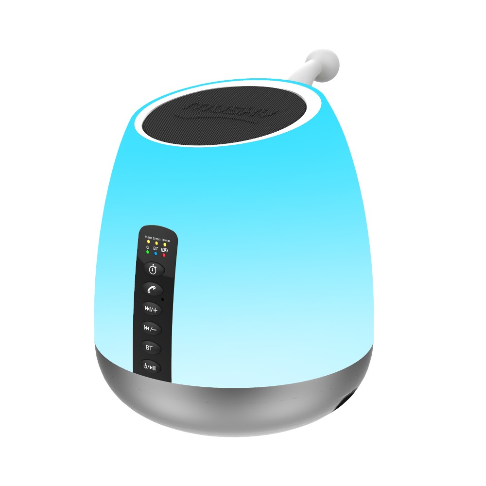 Abuzhen Nitht Light Bluetooth Speaker Portable Wireless Speaker Touch Control Color Led Speaker Beside Table Lamp Support TF AUX night light with bluetooth speaker shava portable wireless bluetooth speaker touch control color led bedside table lamp