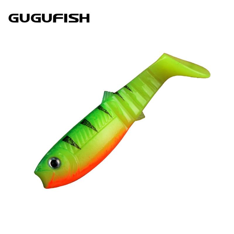 GUGUFISH Fly Fishing Bait 12PCS 8cm Lures Artificial Soft Fishing Baits Cannibal Fishing Fish Soft Lures Shads