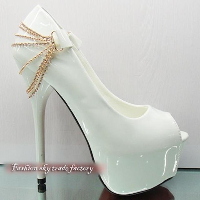 Aliexpress.com : Buy Korean new fish head ultra high heels,fashion ...