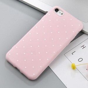 Image 5 - Capinha de celular uslion point, capinha de celular para iphone 11 pro max vinho vermelho ploka pontos capinha de tpu macio para iphone x xr xs max 8 7 6 s plus 5 s se