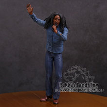 Bob Marley Music Legends Jamaica Singer & Microphone PVC Action Figure Collectible Model Toy 18cm(China)