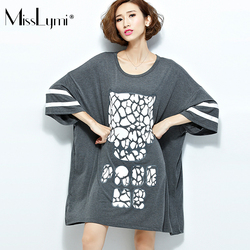Misslymi 6xl plus size women font b oversized b font t shirt dress 2017 summer elegant.jpg 250x250