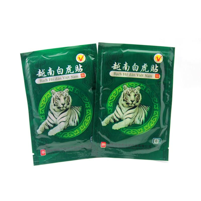 16 Piece Vietnam Creams White Tiger Meridians Patch Rheumatoid Arthritis Lumbar Spondylosis Cervical  Balm Plaster