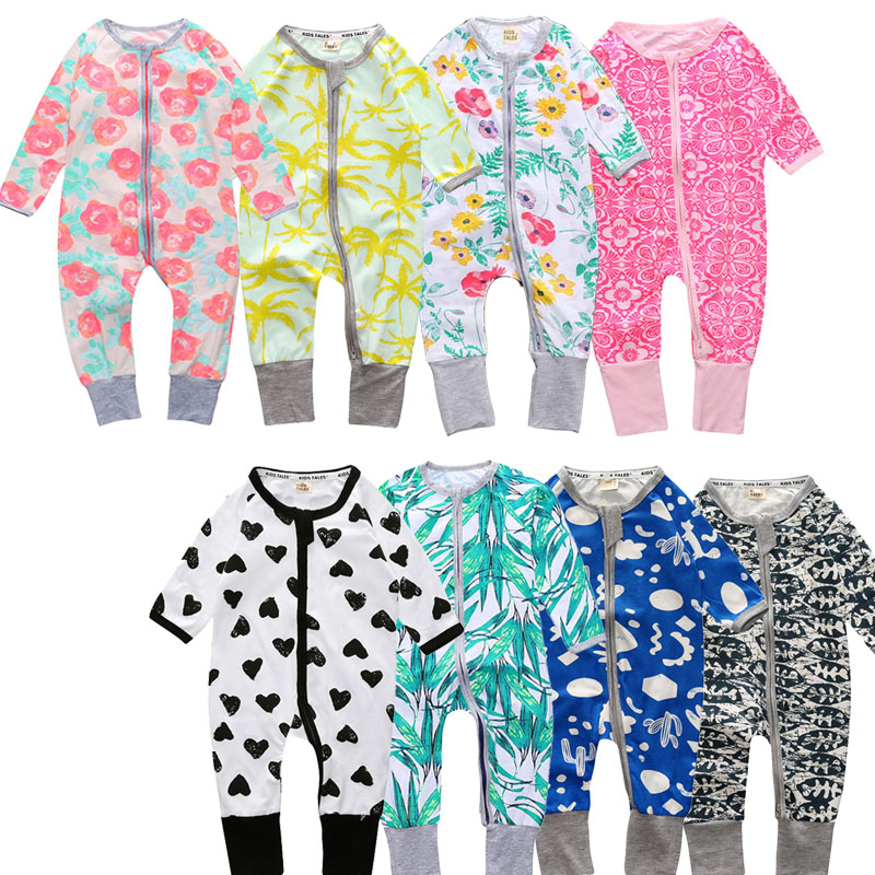Baby Boy Clothes Cotton New Born Baby Girl Clothing Colorful Jumpsuits Roupas Bebe Toddler Kids Costume 2017 Spring Baby Rompers baby rompers one piece newborn toddler outfits baby boys clothes little girl jumpsuit kids costume baby clothing roupas infantil