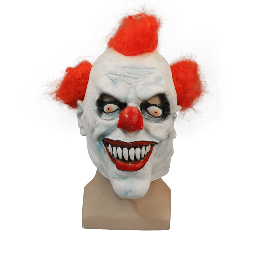 d005e3c08f8 Movie Stephen King s It Mask Pennywise Mask Cosplay Masks Red Hair Clown  Joker Halloween-in Boys Costume Accessories from Novelty   Special Use on  ...