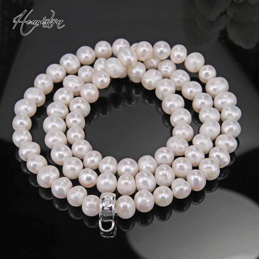 Thomas cultivated freshwater pearls necklace NEW FASION Promotion hot necklace Super deal jewelry FOR WOMAN GIFTS