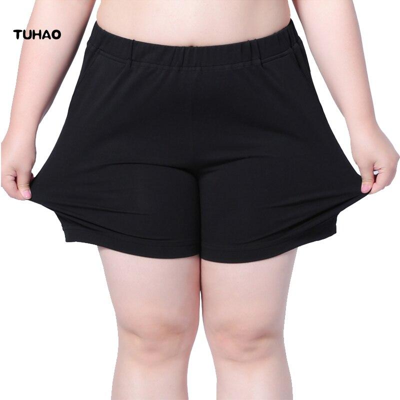 TUHAO Summer   Shorts   Women Big Size 4XL 5XL 6XL 7XL   shorts   large sizes 2018 casual   Short   Feminino Trouser Female   Short   LS05