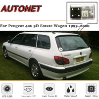 AUTONET Backup Rear View camera For Peugeot 406 5D Estate Wagon 1995~2008/HD Night Vision/Parking Camera/license plate camera