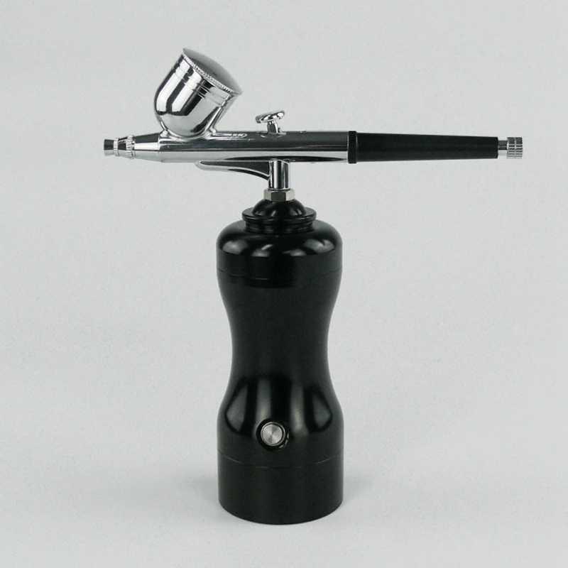 Mini tamaño ligero portátil hermoso juego de aerógrafo pequeño conjunto de lápiz de bombeo de aerosol Kit de compresor de aire para ARTE DE PINTURA artesanal