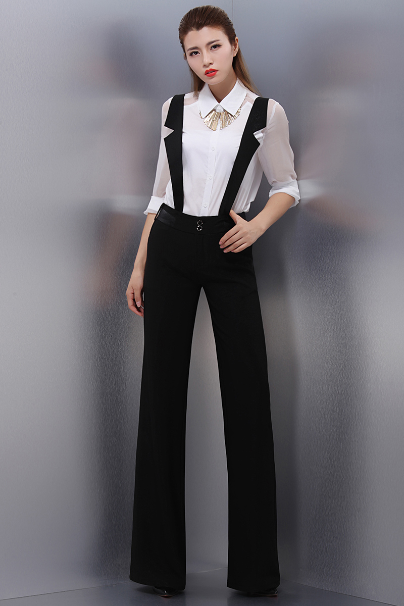 Popular Good Fit Through Calfankle ASOS High Waisted Pants With Suspenders