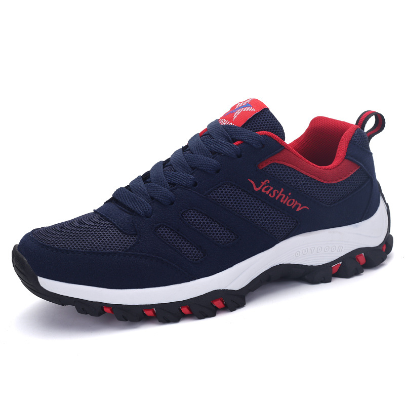 Tenis Fitness Breathable Men Shoes Hiking Fitness Sports Men Shoes Breathe Freely Sneakers Cross Training Shoes High Quality mulinsen breathe shoes men