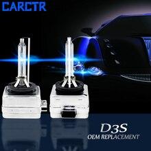 CARCTR 1 Pair Hid Xenon Lamp Car Headlight 4300K 5000K 6000K 8000K 10000K 12000K 15000K 35W 12V Car Headlight Bulbs