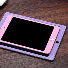 Pour Ipad Mini 4 Trempé Verre Solide Couleur Soie Imprimer plein Écran Protection 7.9 Pouces 9 H Dureté 0.25D Scratch Proof YNMIWEI