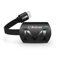 Универсальный MiraScreen G4 ТВ палкого ключа MiraScreen литой HDMI WiFi Дисплей приемник Miracast для Google Chromecast 2 ПК с системой андроида и ТВ