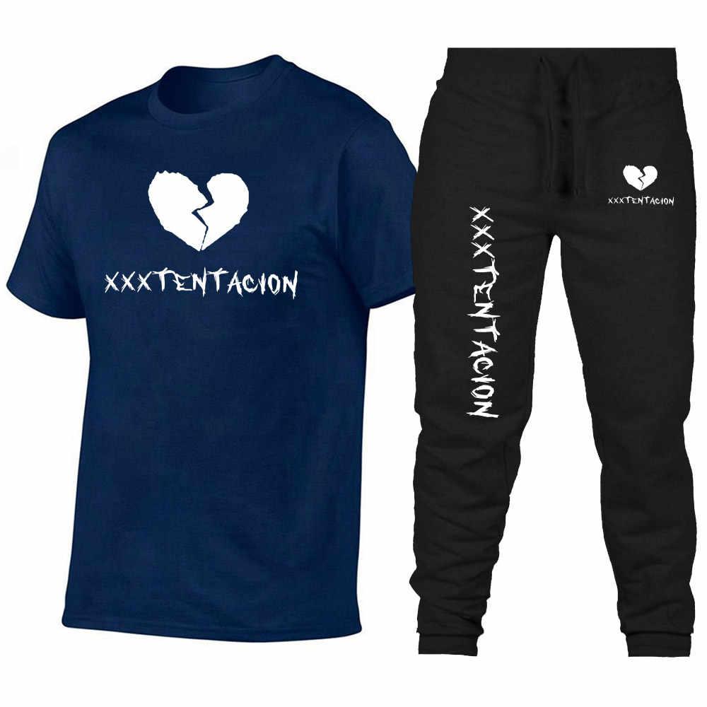 2019 новая футболка мужская XXXTentacion цифровая печать женская спортивная одежда футболка с круглым вырезом Футболка для влюбленных уличная