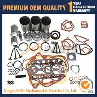 Overhaul Rebuild Kit For Mitsubishi S3L S3L2 Overhaul Rebuild Kit Piston Ring Cylinder liner Gasket