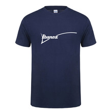 267ec232df1 Summer New Ibanez T Shirt Men Cotton O-neck Short Sleeve T Shirts Ibanez  Guitar