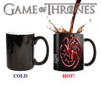 Drop Shipping Game Of Thrones Mugs Tribal Totem Mug Color Changing Magic Mugs Cup Tea Coffee