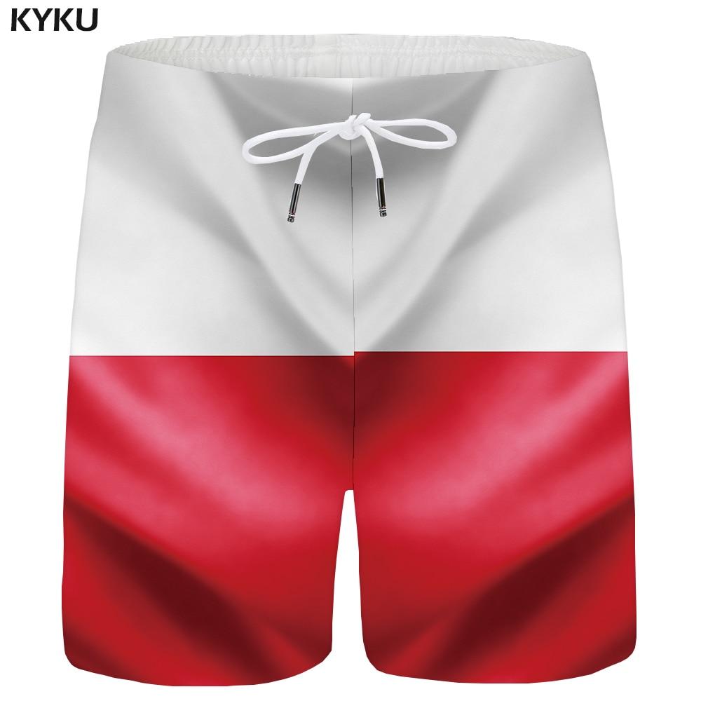 KYKU Germany Flag Shorts Men Pattern Cargo Shorts Casual Summer 3d Printed Short Beach Anime Mens Short Pants 2018 New Plus Size