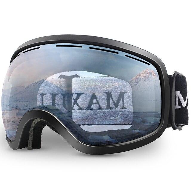 Kayak gözlüğü, kış kar sporları anti sis ile çift Lens kayak maskesi gözlük kayak erkek kadın kar gözlüğü M3