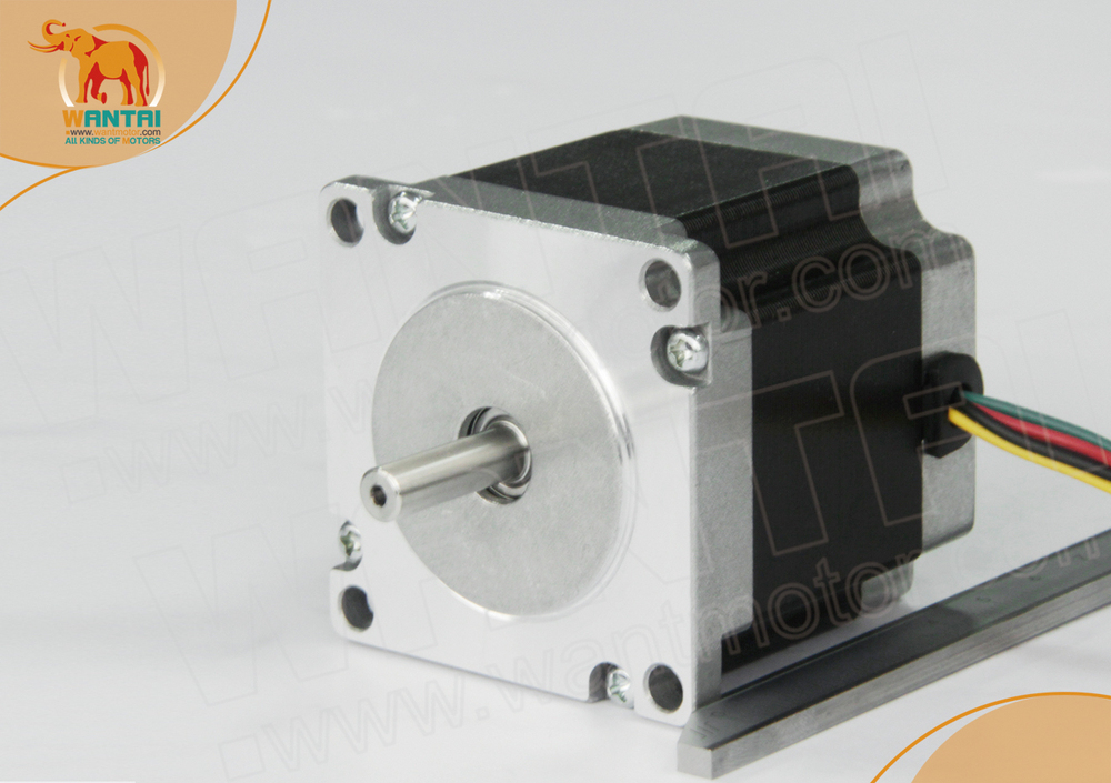 Top sale wantai stepprt motor nema23 185 oz in for Best stepper motor for cnc