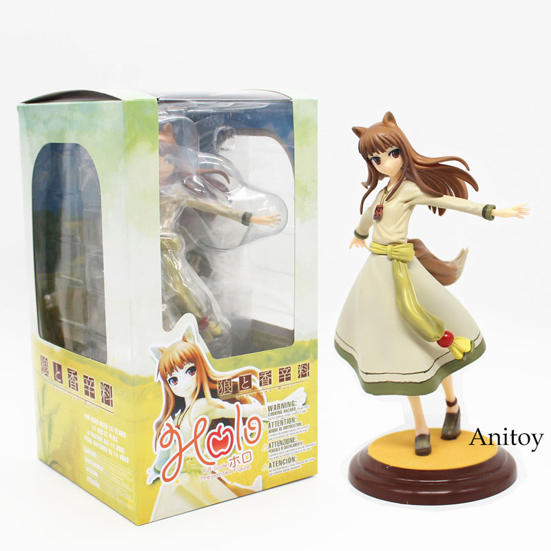 Free Shipping Anime Kotobukiya Spice and Wolf Holo Renewal 1/8 Scale Boxed PVC Action Figure Collection Model Toy 8 20CM KT3877 free shipping cute 4 nendoroid monokuma super dangan ronpa anime pvc acton figure model collection toy 313 mnfg057