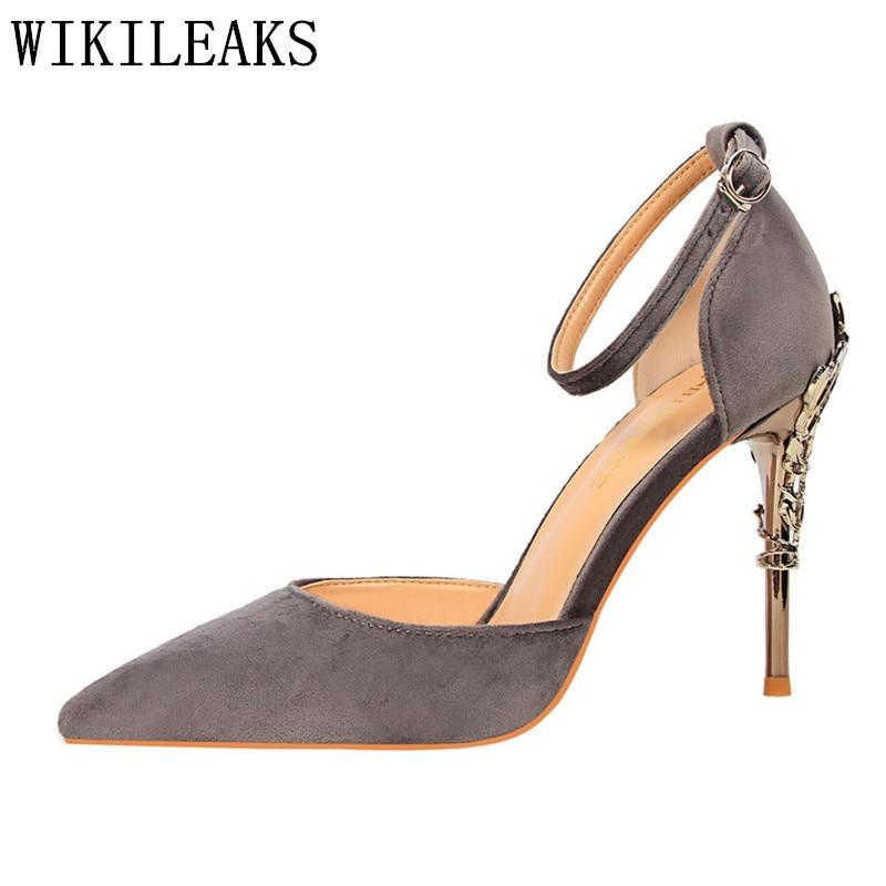 d412e1e84f high heels sandals women luxury brand pumps escarpins sexy fetish ...