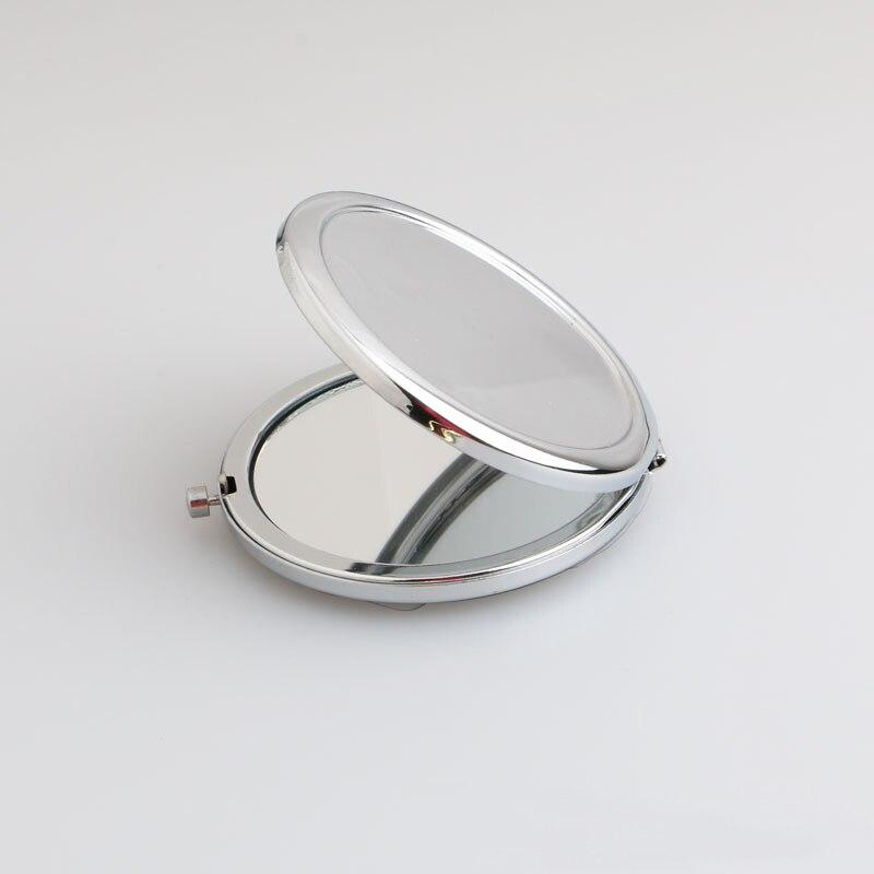 개인화 된 소형 지갑 거울 포켓 메이크업 거울 베이비 샤워 신부 파티 결혼식 호의 christening 선물 생일 기념품-에서파티 취향부터 홈 & 가든 의  그룹 3