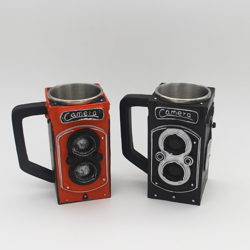 New Retro Resin camera coffee cup 1