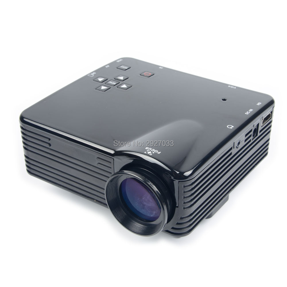 800 Lumens Home Theater Mini Portable Led Multimedia: 800 Lumens LED Mini Video Support 1080P Portable Pico
