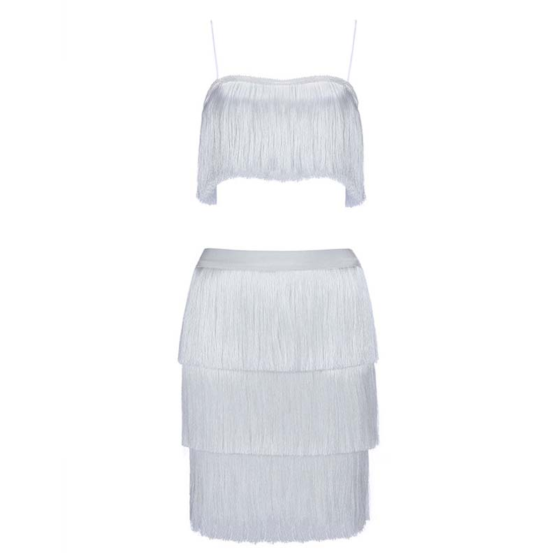 bourgogne D'été Sexy Soirée White Dentelle Robes Fringe Clubwear De Verano H5410 Partie Glands Erdaoben Moulante Bandage Célébrité wP80ynmOvN