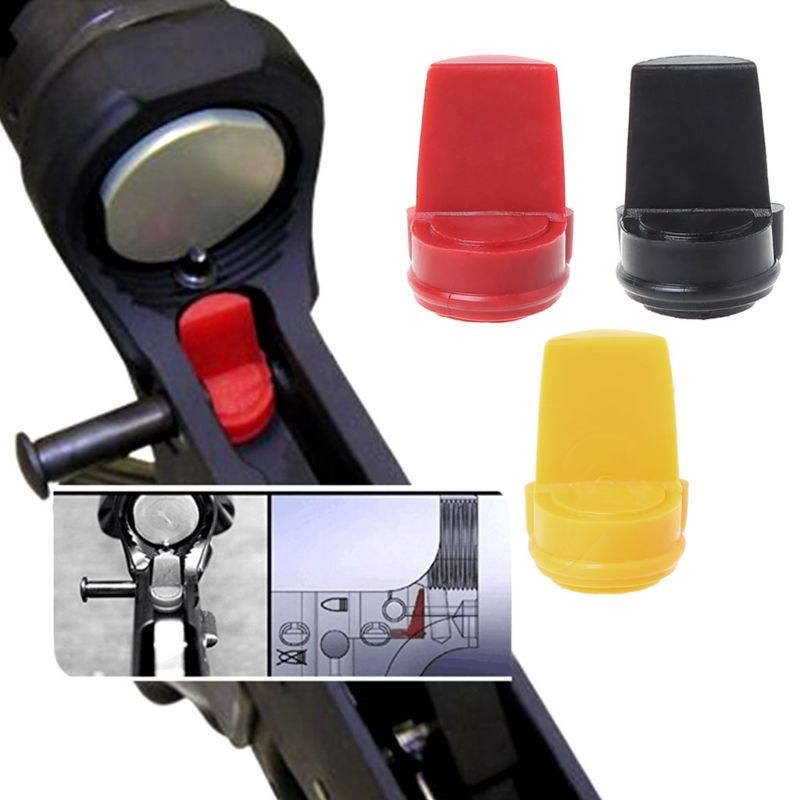 12mm Rubber Bead Tactical Buffer Wedge Hunting Accessories Tight Receiver Black Red Yellow in Hunting Gun Accessories from Sports Entertainment