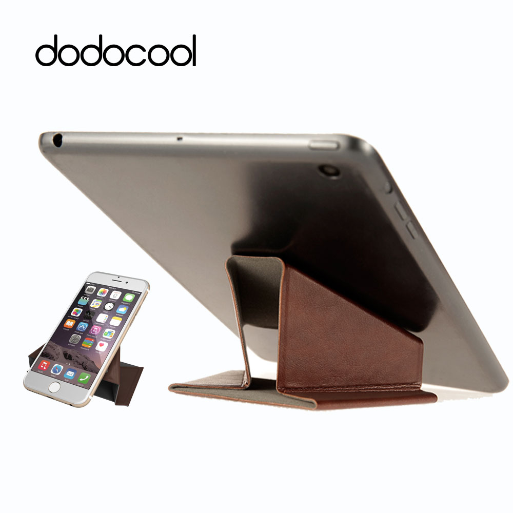 Aliexpress Dodocool Phone Holder Stand Tablet Pu Leather Desktop Desk Folding Detachable For Iphone Ipad 4 7 9 From