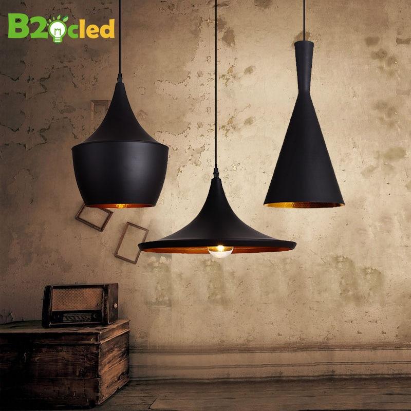 Vintage Style lamp European Industrial Wind pendant light E27 base droplight for restaurant home decoration Guest